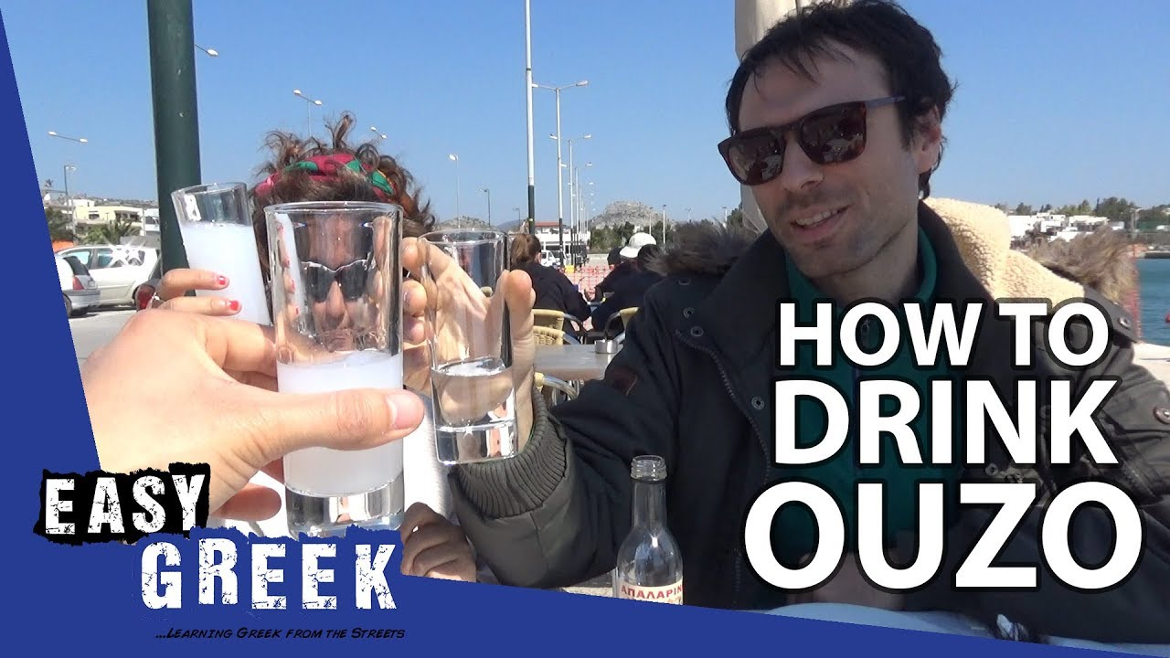 Download How to drink Ouzo like a Greek | Easy Greek 25