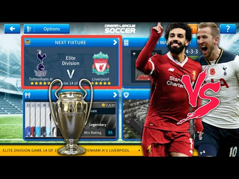 Liverpool Vs Tottenham Hotspur UCL Final 🏆 Dream League Soccer 2019