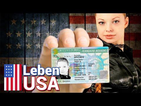 Greencard USA Voraussetzungen