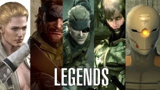Metal Gear Solid - 5 Legends [HD]