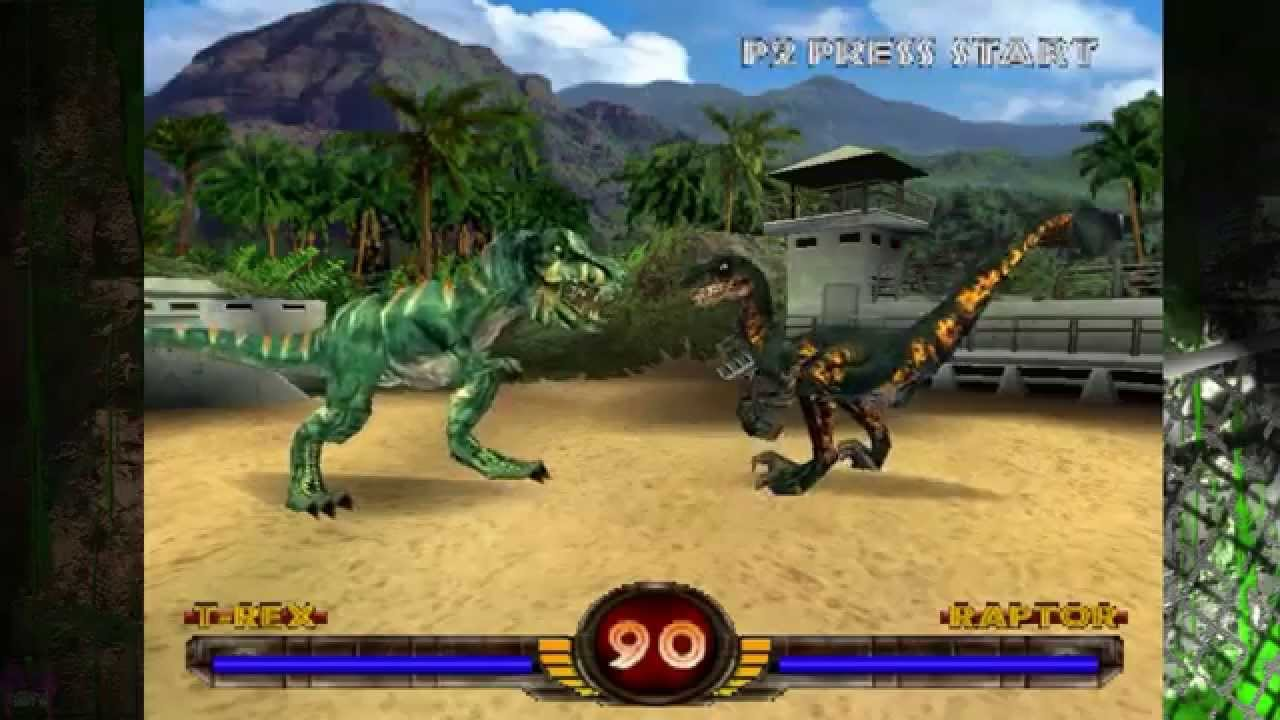 warpath jurassic park tyrannosaurus rex vs mega raptor