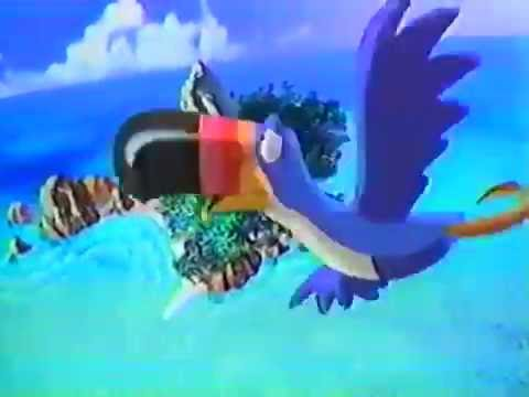 Fruit Loops Dinosaur Island Commercial KidsWB 2002 VHS Vault rip