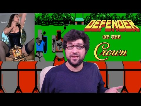 Defender of the crown NES Review!