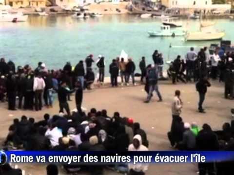 Un millier d'immigrés de Tunisie et Libye arrivent en Italie