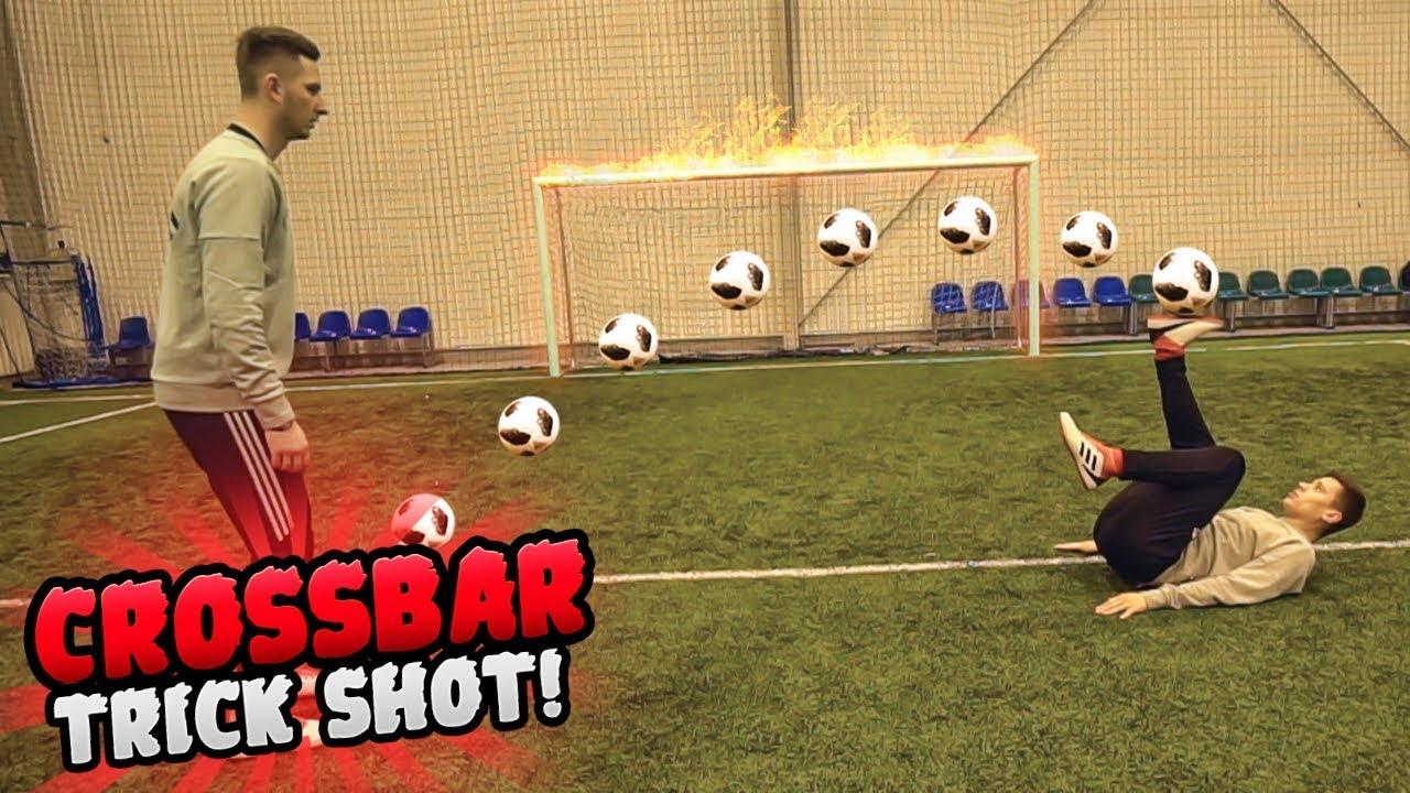 CROSSBAR TRICK SHOT! – LACHU & LOTAR