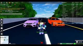 MERCEDES-BENZ AMG C63 VS BMW M3 (Roblox Ultimate Driving Races Episode 2)