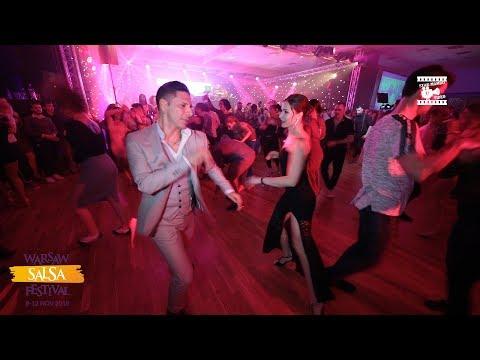 Смотреть Rodrigo Cortazar & Asya - Salsa Social Dancing @ WARSAW SALSA FESTIVAL 2018 онлайн