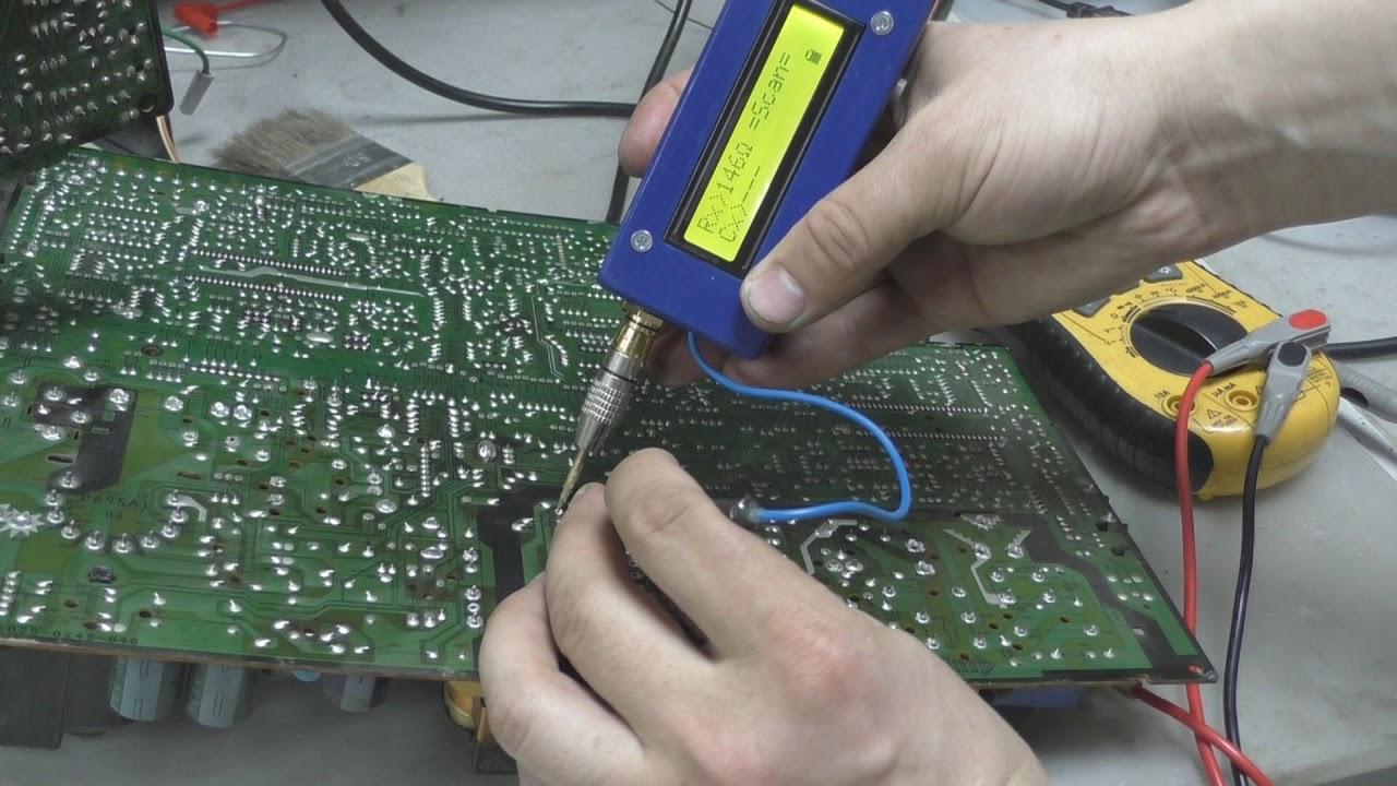 Электрическая схема samsung ck-2173vr
