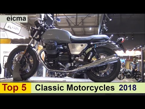 Top 5 Classic Motorcycles for 2018