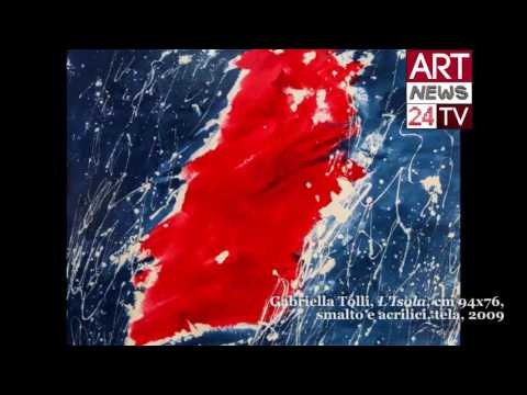 ITALIAN ABSTRACT PAINTERS: Gabriella Tolli and the First Web Serie about Italian Abstract Art