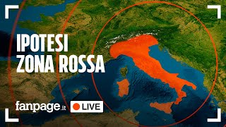 Il governo deciderà nelle prossime ore se decretare la zona rossa in tutta italia, si va verso linea del rigore, per prevenire terza ondata quando è ad un passo dal vaccino. decisione ...