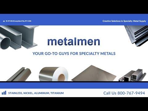 Aluminum, Stainless, Nickel Supply - Bar, Plate, Sheet, Rod
