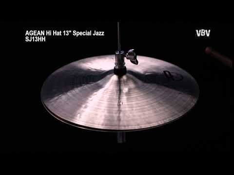 "13"" Hi Hat Special Jazz video"