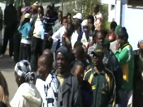 South African Elections 2009 in Kokstad, KwaZulu-Natal - [The Opinion News]