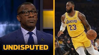 Shannon Sharpe is 'disappointed' in LeBron after Lakers-Spurs OT game | NBA | UNDISPUTED