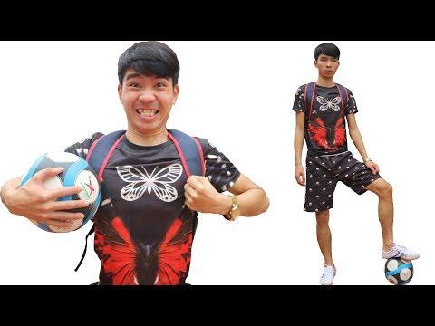 PHD | Thử Thách Dắt Bóng 5km | Go The Ball