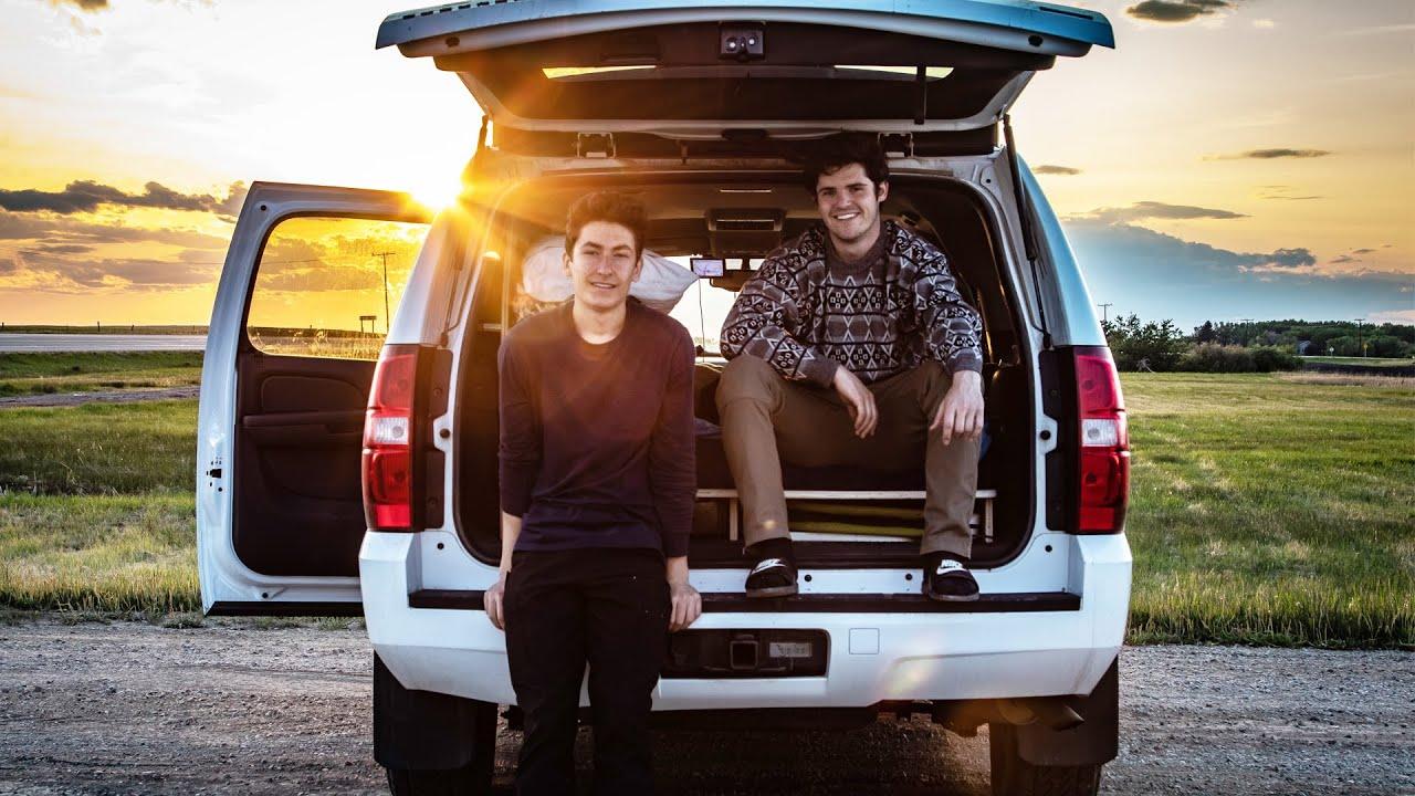 Simple Chevy Suburban Camper Conversion Video Tour