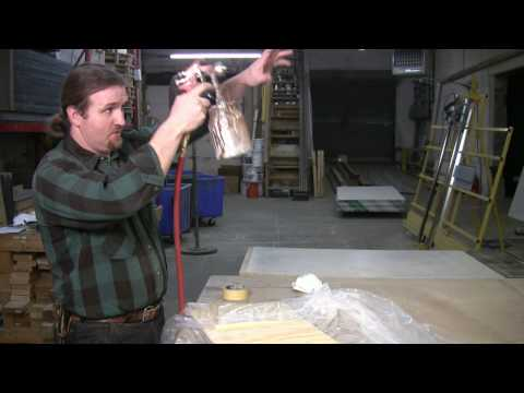 Home Repair & Power Tools : How to Use a Spray Paint Gun