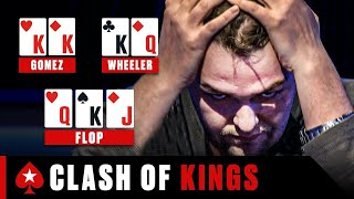Two players, one massive pot  ♠️ Best Poker Clips ♠️ PokerStars