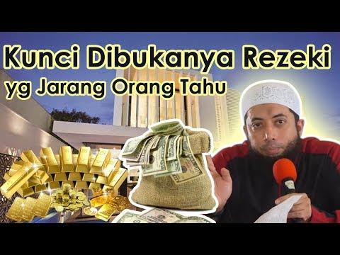 Kunci Dibukanya Rezeki yg Jarang Orang Tahu ◘ Ust Khalid Bassalamah