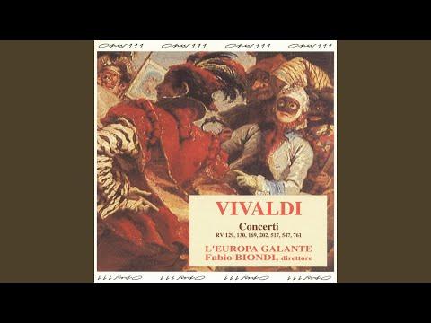 """Concerto Per Archi In D Minor, RV 129 """"Madrigalesco"""": III. Allegro Molto Moderato"""