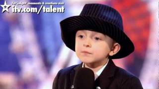 Repeat youtube video Lovely British boy at Britain's Got Talent 2011 audition - Robbie Firmin