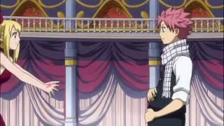 Fairy Tail прикол 125 эпизод Люси и Нацу
