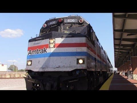 Railfaning Dallas Union Station and Fort Worth ITC station - 7/12/17