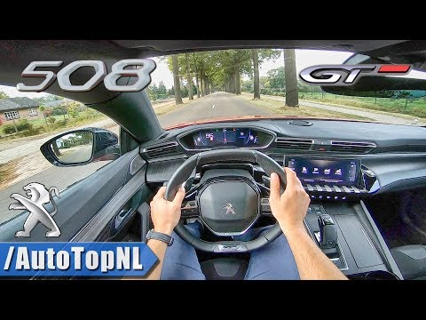 2019 Peugeot 508 GT First Edition 225HP POV Test Drive by AutoTopNL