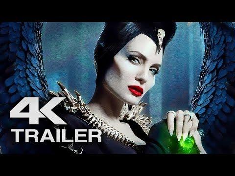 MALEFICENT 2: Mistress of Evil Trailer (4K ULTRA HD) 2019 - Angelina Jolie Movie