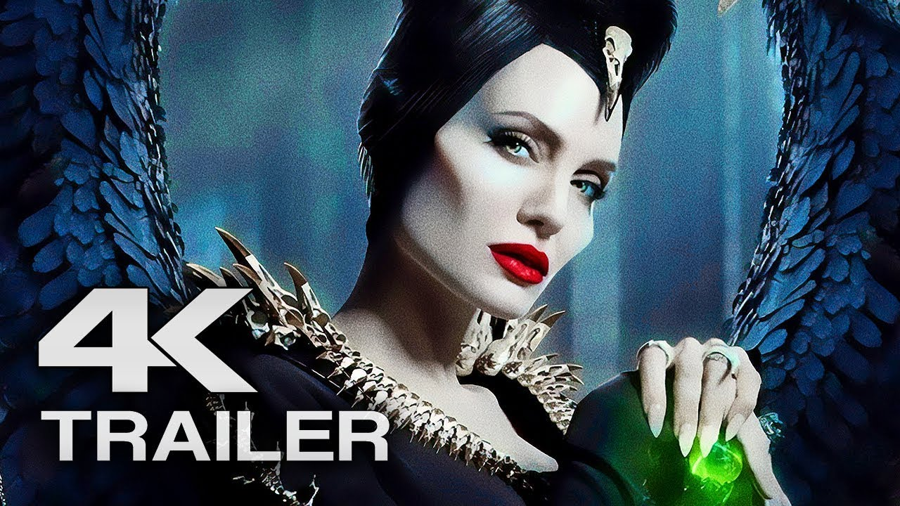 Maleficent 2 Mistress Of Evil Trailer 4k Ultra Hd 2019 Angelina Jolie Movie