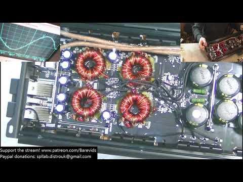 Digital Designs DM2500 Full power bench test & circuit overview