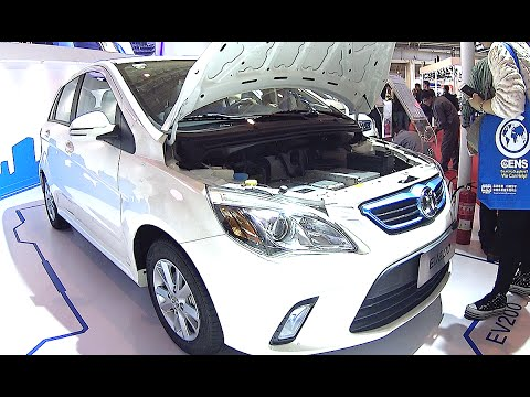 Beijing Auto Senova EV200 EV 2016, 2017 launched in China Hybrid and electric vehicle