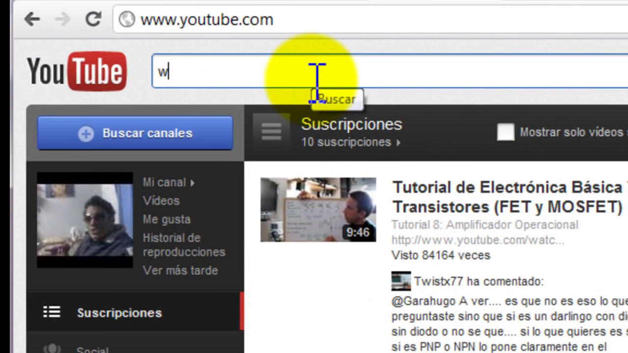 tutorial para copiar y pegar link o enlace - YouTube