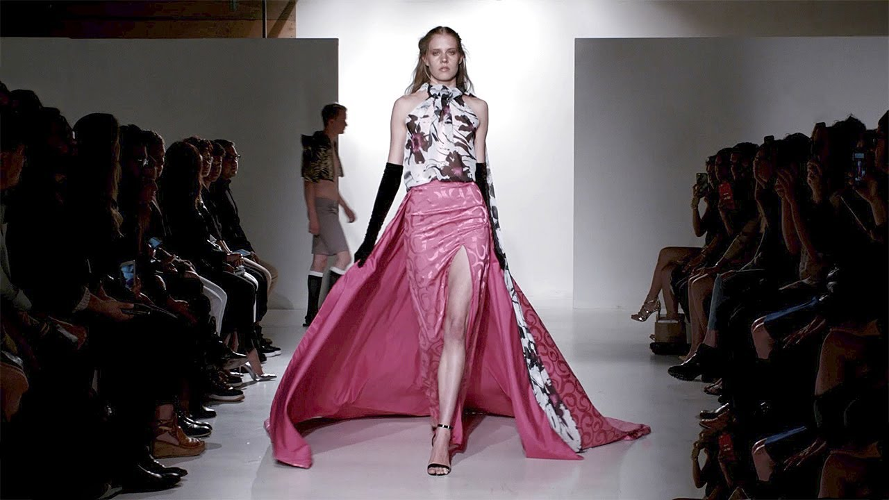 Gia new york fall winter 2017 2018 full fashion show for New haute couture designers