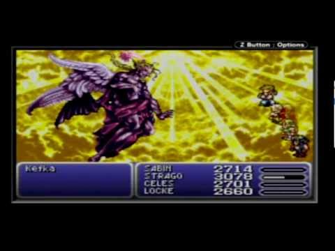 Let's Play Final Fantasy 6 Advance Walkthrough Part 59 (FINALE Part 1: Kefka)