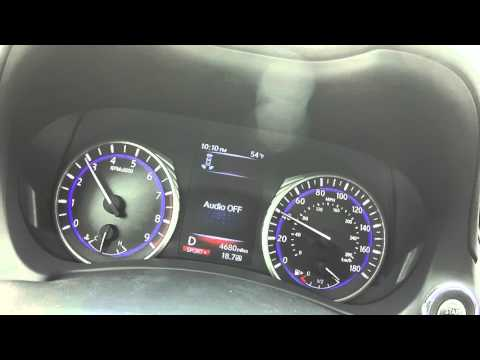 Infiniti Q50 400 Red Sport 0-60 mph - FAST!