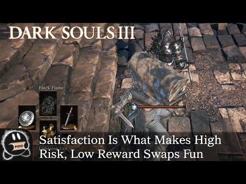 Dark Souls 3: Satisfaction Is What Makes High Risk, Low Reward Swaps Fun (Raw Clip)