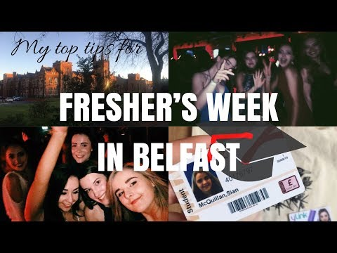 MY TOP TIPS FOR FRESHER'S WEEK AND STARTING UNIVERSITY   QUEEN'S UNIVERSITY BELFAST QUB
