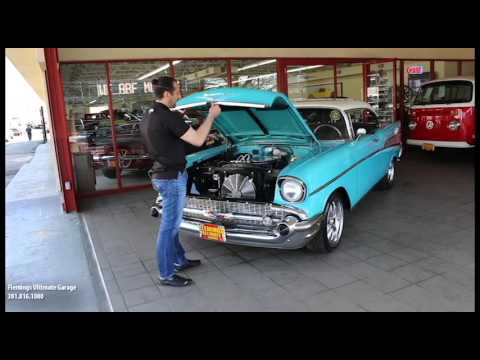 57 CHEVROLET BELAIR PROTOURING for sale with test drive, driving sounds, and walk through video