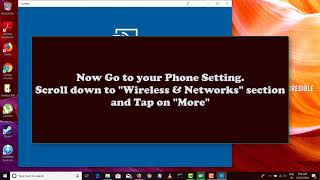 How to use Laptop/PC Monitor(Windows 10) to Display Android Screen wirelessly (Xiaomi MIUI 10)