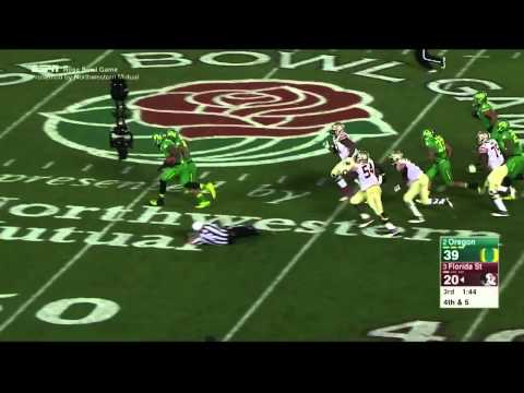 2015 Rose Bowl - Oregon Highlights