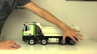 AROCS 8x8 Halfpipe Dump Truck Part 3