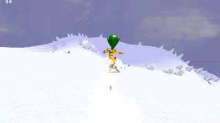 "Stoked Rider : ""Extreme Freeriding Simulaiton"" v2.09 (Windows game 2001)"