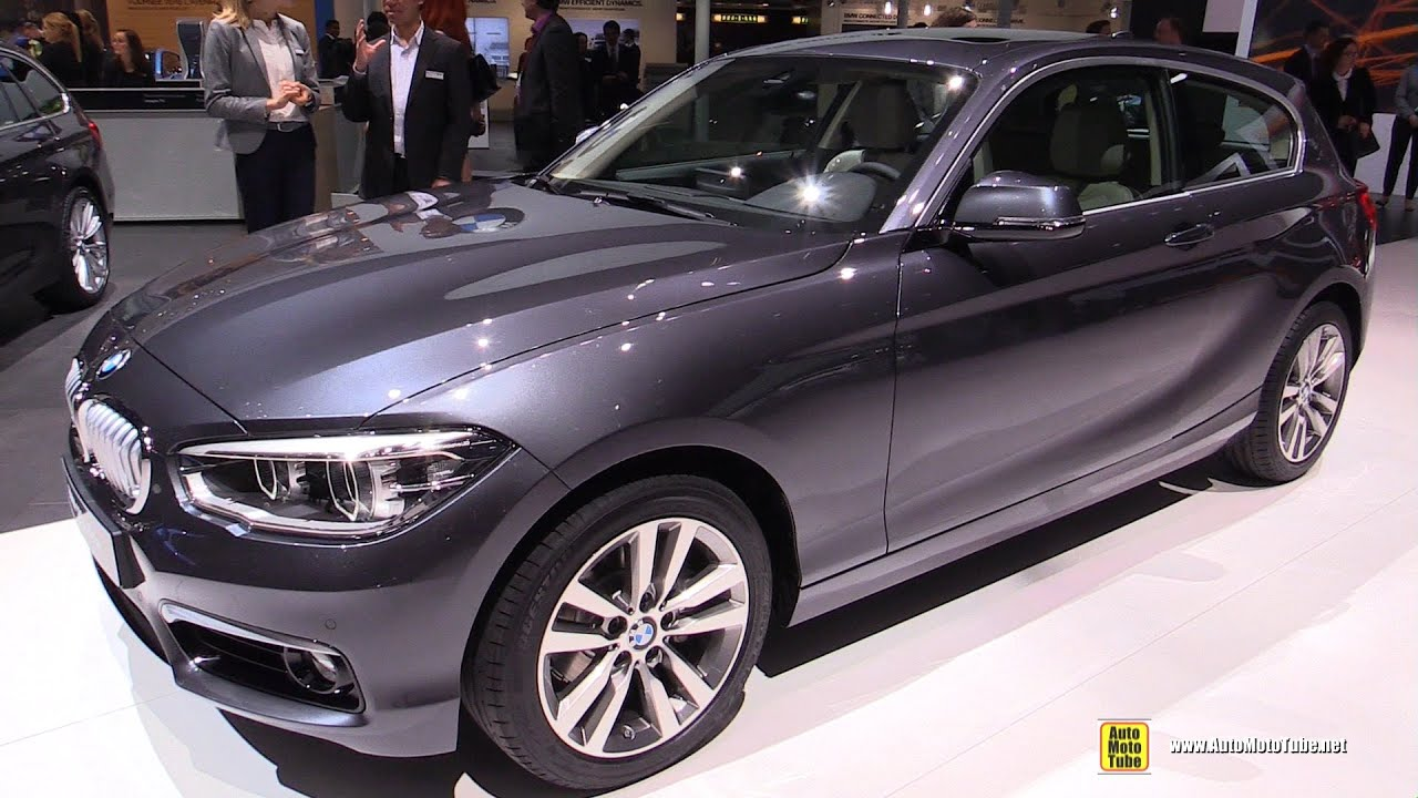 2016 bmw 1 series 120d xdrive exterior and interior walkaround 2015 geneva motor show youtube. Black Bedroom Furniture Sets. Home Design Ideas