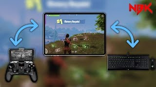 """Your using a controller!"" Fortnite Mobile Hand Cam (Response) - NBK CLAN FORTNITE MOBILE"