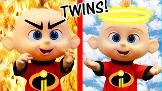 Disney Incredibles 2 Movie Compilation with Jack Jack Evil Twin & Toy Scavenger Hunt