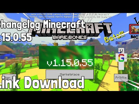 minecraft-versi-1.15.0.55,-changelog+link-download