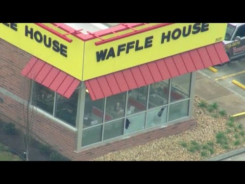 Manhunt underway for Waffle House shooting suspect