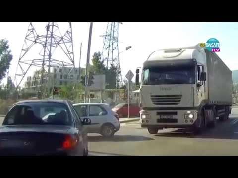 Катастрофа в София/ Car crash in Sofia,Bulgaria